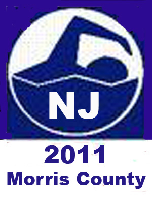New jersey swimming 2011 morris county championships for Mark morris high school swimming pool